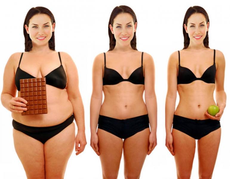 nepageidaujamas svorio metimas